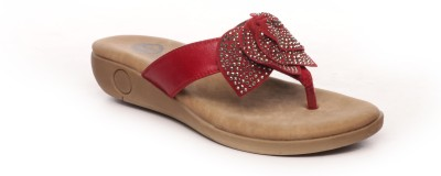 Pavers England Women Red Wedges