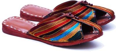 Manthana Women Multicolor Flats