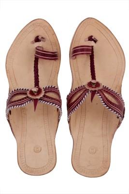 Tripssy Women Natural, Maroon Heels