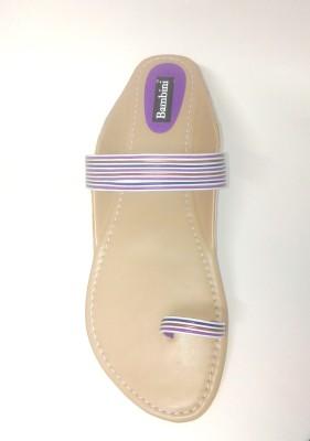 Bambini Girls Purple Sandals