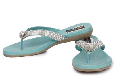 Sapatos Women Green Flats