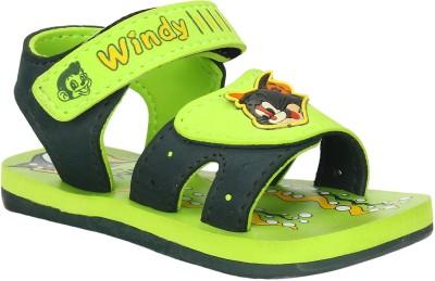 WINDY Boys, Girls Green Sandals