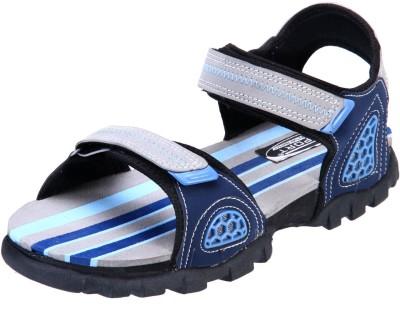 Irus Men Grey, Blue Sandals