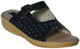 Alexus Girls Slipper Flip Flop (Black)