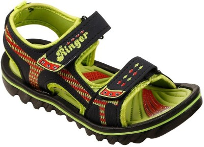 Hot Dog Boys Green Sandals