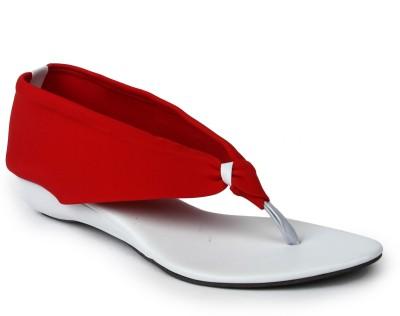 Rise Women Red Wedges