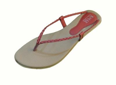 Kally Women Red Flats
