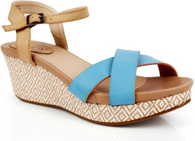INTOTO Women Blue Wedges