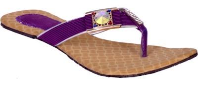 skyler Women Purple Flats