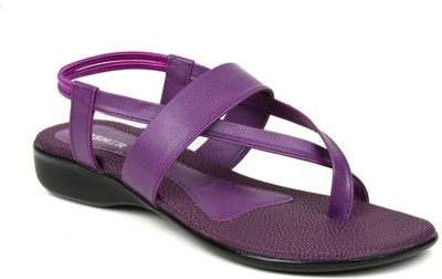 Kosher KLSS029-PURPAL Women Purple Flats