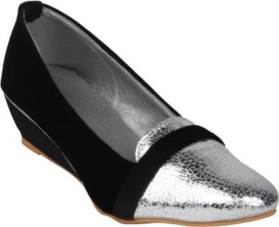 Stylistry Women's Casual Women Silver Wedges