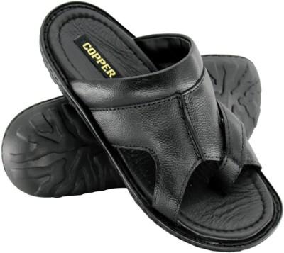 Copper C-8493 Men Black Sandals