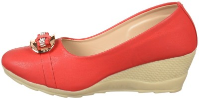Rover Women Red Wedges