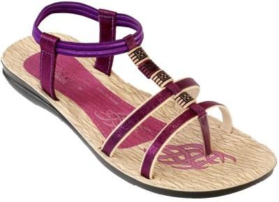 Recent Collection Women Purple, Pink Flats