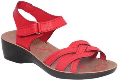 Hi Speed Women Red Flats