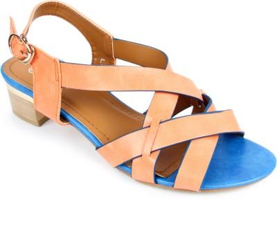 Starchi Women Orange Heels