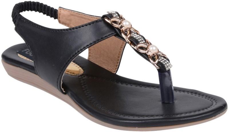 Footshez Women Black Flats