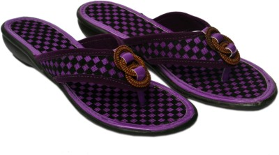 Aadolf Women Purple, Black Flats