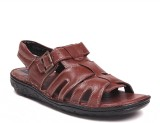 Haroads Men Brown Sandals