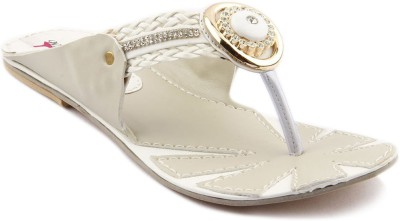 Womens Club Women White Flats