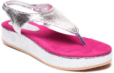 Zohra Collection Women Pink Flats