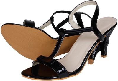 Lovely Chick Women Black Heels
