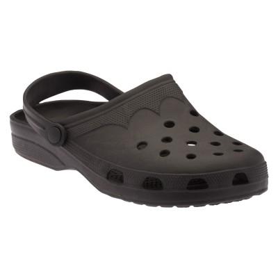 Footista Men Black Clogs