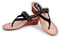 The Shoe Closet Women Black Wedges