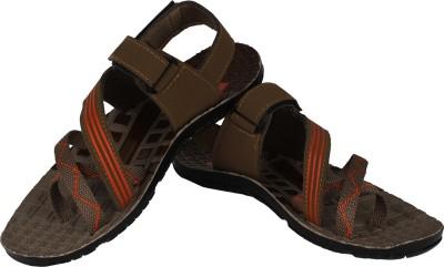 Vivaan Footwear Grey-818 Men Grey Sandals