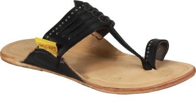 Paytaan Men White, Black Sandals