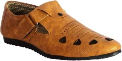 Graceful Men Tan Sandals