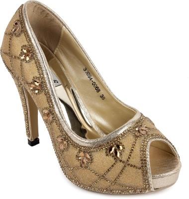 FOOTASH Women Grey Heels