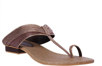Pantof Women Brown Flats