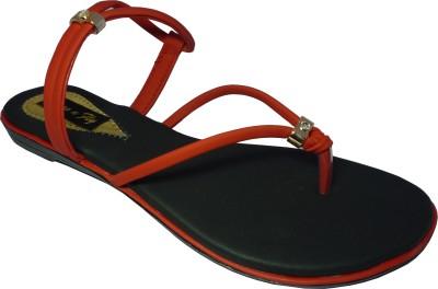 Bogo N fly Girls Red Flats