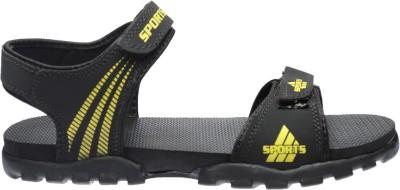 Hocky Men Black Sandals