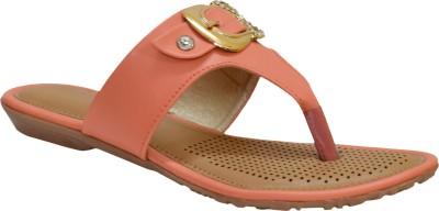 Apick Women Orange Flats