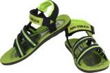 Super Matteress Men Green Sandals
