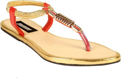 karizma shoes Women Tan Flats