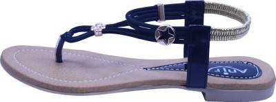 Anira Fashion Women Black Flats