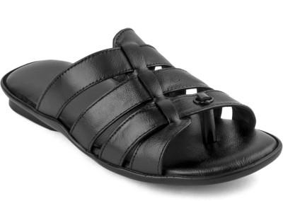 Haroads Men Black Sandals