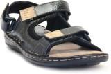 E-Lyte Men Black Sandals