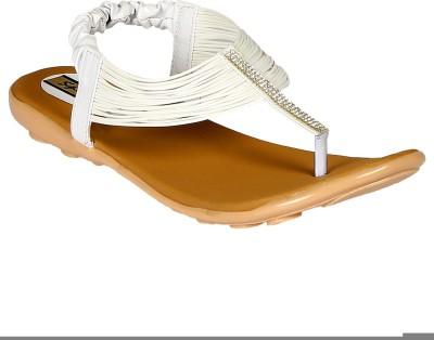 Sporch Women White Flats