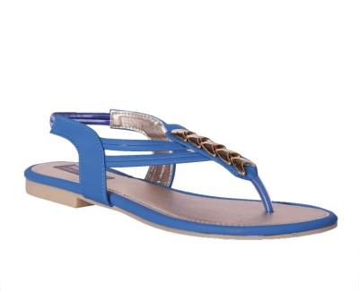 Pantof Women Blue Flats