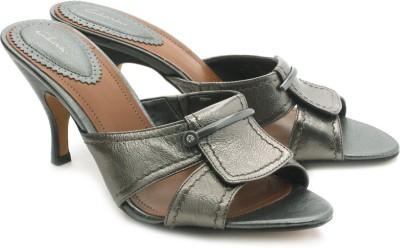 Clarks Sukie Kenna Women Grey, Brown Heels