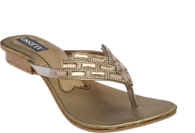 Alesso Women Gold Flats