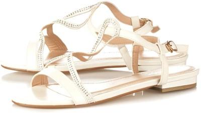 Vero Couture Women White Flats