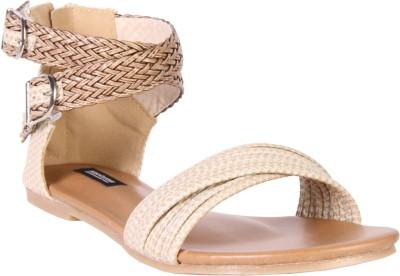 karizma shoes Women Beige Flats
