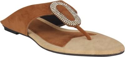 XQZITE Women Tan Flats
