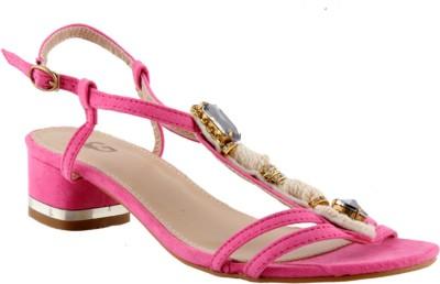 Totes Gallore Women Pink Heels