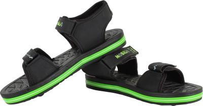 Vivaan Footwear Brown-803 Men Green Sandals